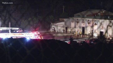 Fire severely damages Douglas Co. Department of Transportation warehouse