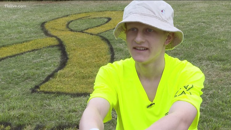 Morgan County celebrates soccer player after he finishes 12th, final round of chemo