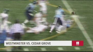 TEAM 11: Westminster vs. Cedar Grove