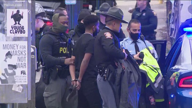 11 arrested after protest attempts to gain access to freeway