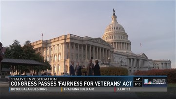 Congress passes 'Fairness for Veterans' Act
