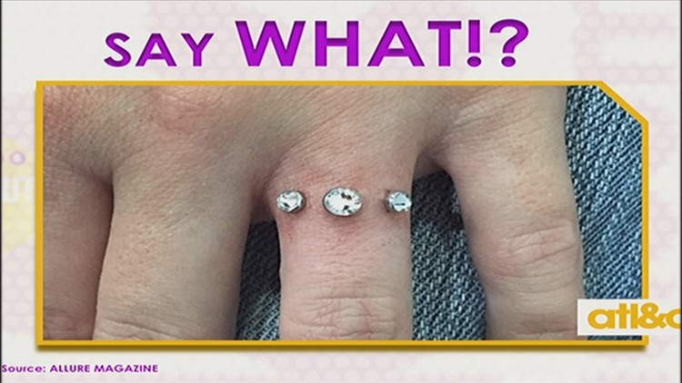 pain infected procedure rings wedding piercing pictures removal dermal after