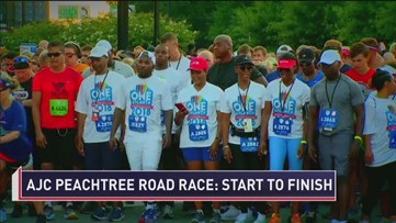 2018 AJC Peachtree Road Race: Start To Finish - Part 4