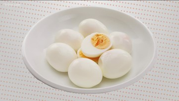 Why are hard boiled eggs so difficult to peel?