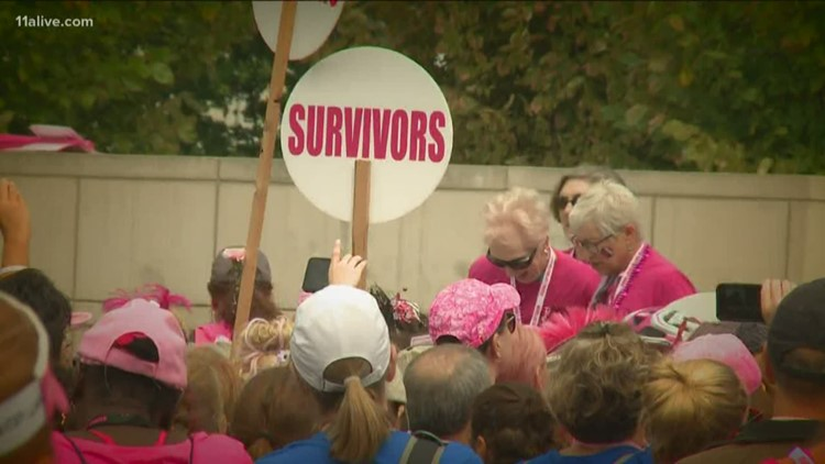 Atlanta 2 Day Walk for Breast Cancer turns Atlanta roads pink