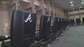 Behind the scenes look at the new Atlanta Braves'  Spring training facility