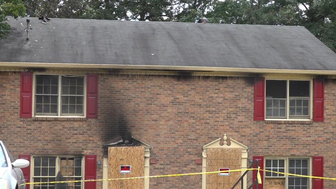 Fire damages Lawrenceville duplex