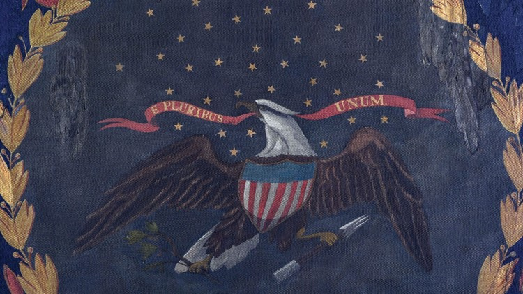 African American Regimental Flag