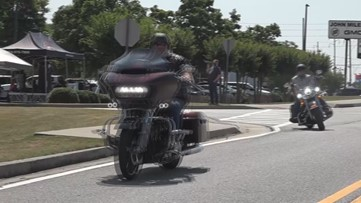 Local motorcycle clubs take to the streets for the Redemption Ride