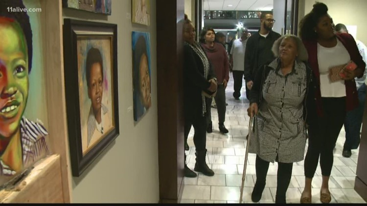 Atlanta Child Murders | Gallery Exhibition at City Hall of portraits