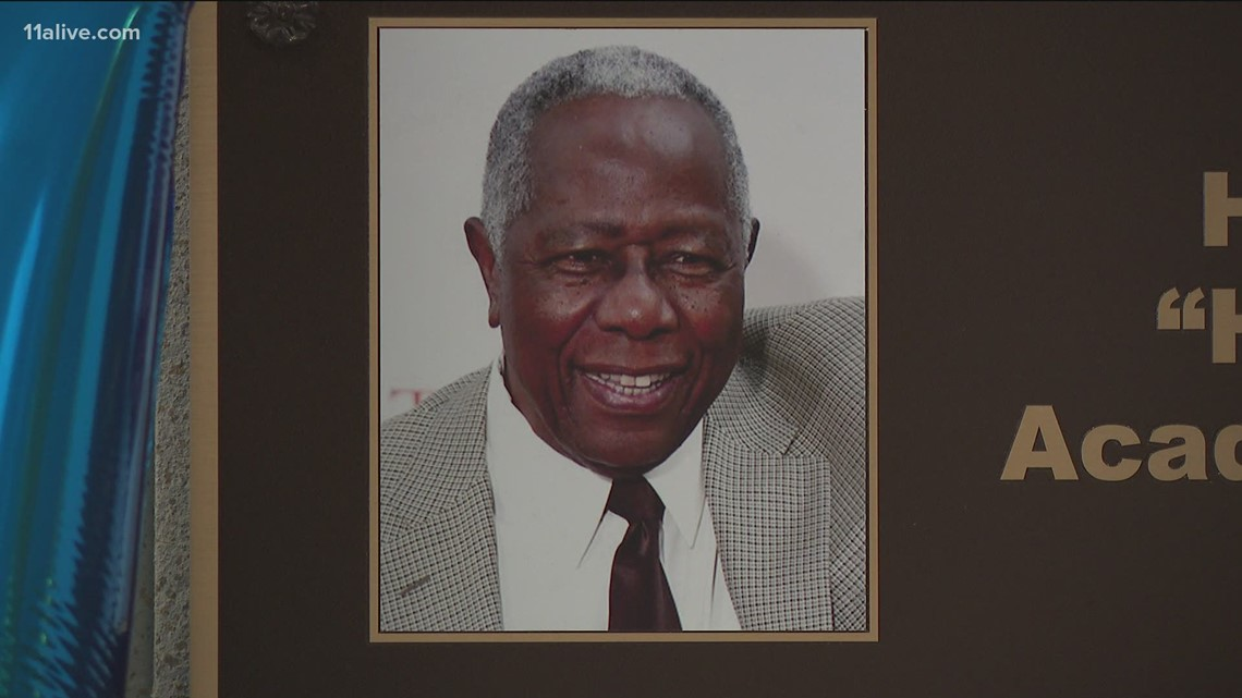 Atlanta Technical College honors Hank Aaron on what would have been his 87th birthday