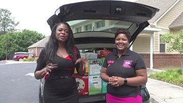 Community Baby Shower in East Point for Mother's Day