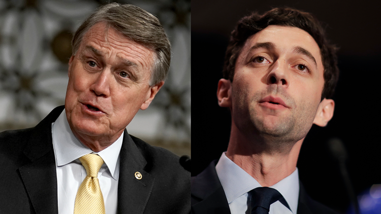 Georgia Senate results | Perdue and Ossoff runoff