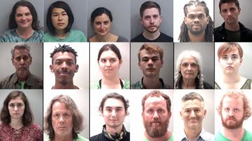19 arrested in Atlanta climate strike demonstration