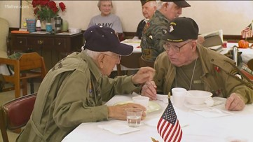 1 parachuted into Normandy, the other helped liberate a concentrate camp