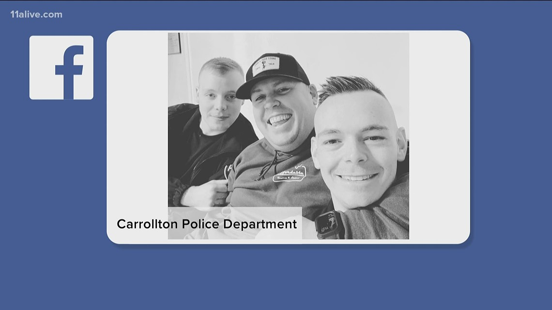 Carrollton Police Sgt. shot during chase last week 'doing amazingly well', doctor says