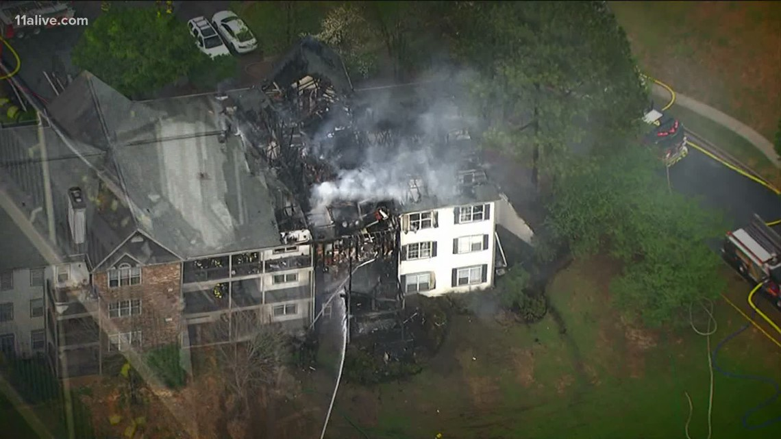 Massive fire, apartments destroyed, returning to class: Up to Speed