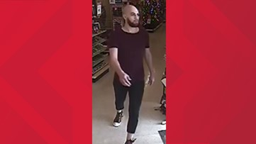 Man wanted for allegedly grabbing girl's butt inside Dunwoody store