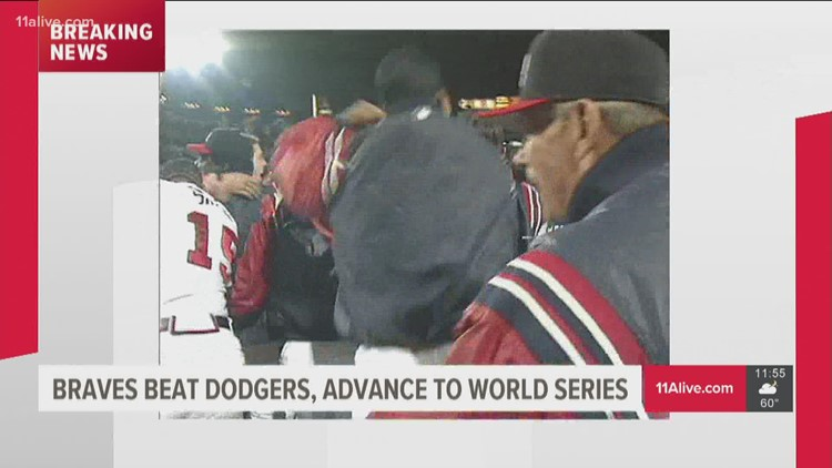 Watch | The last time Atlanta Braves went to World Series in 1999