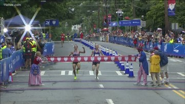 Runner who lost AJC Peachtree Road Race in 2015 says it's all about perspective