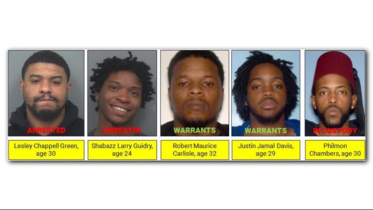 Gwinnett storage unit murder suspects
