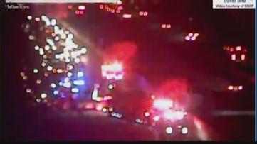 Red Alert   Lanes blocked on I-20W in DeKalb Co.