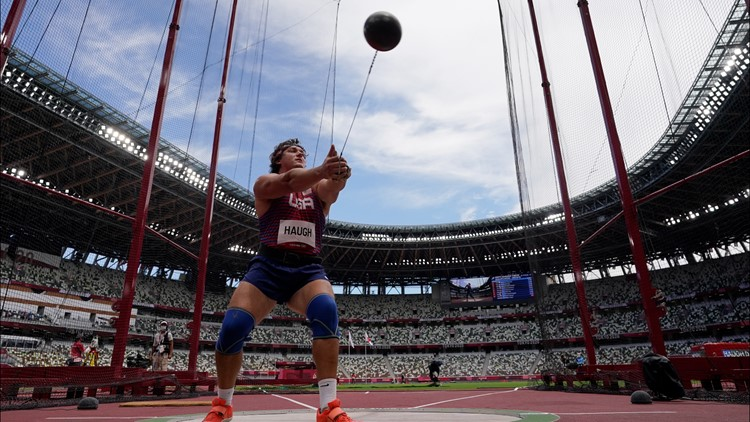 Daniel Haugh qualifies for final in Olympic Hammer Throw