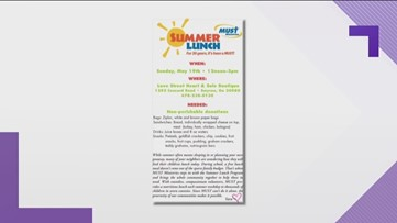 MUST ministries holding summer lunch supply this weekend