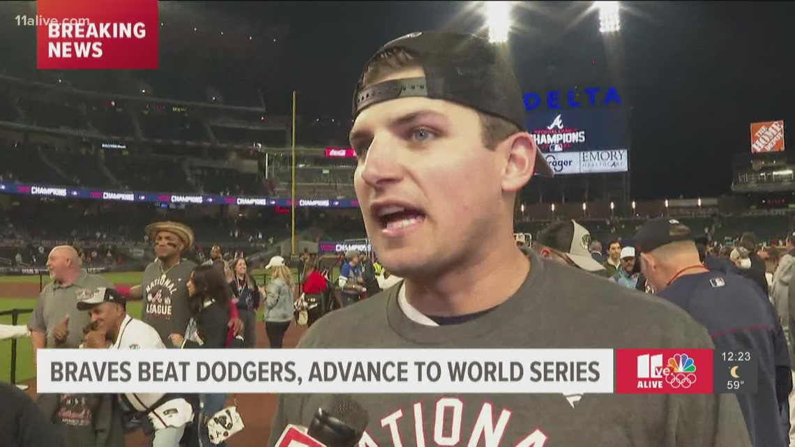Atlanta Braves' Austin Riley  on heading to world series with team for first time since 1999