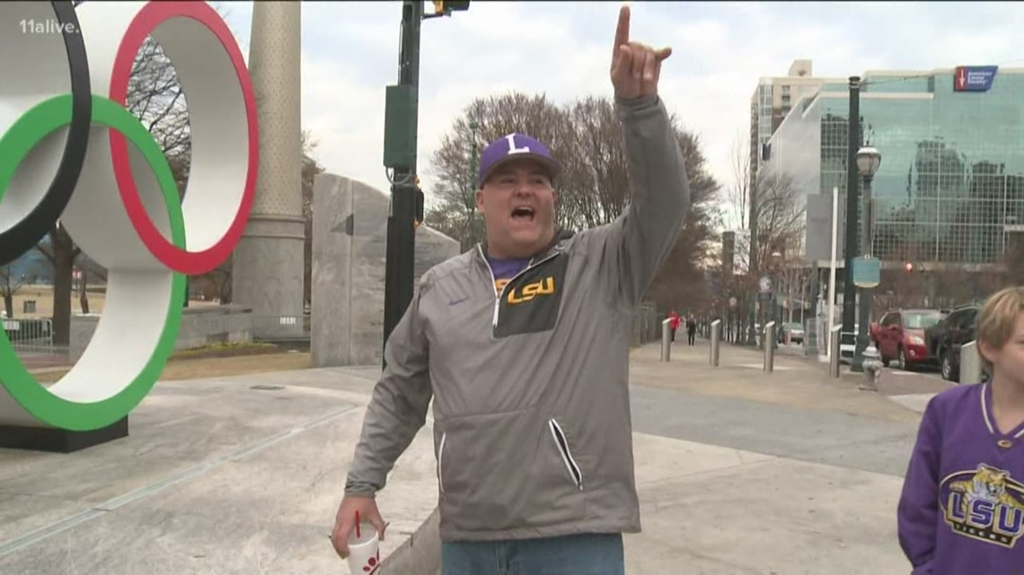 Fans flock to Atlanta for SEC Championship