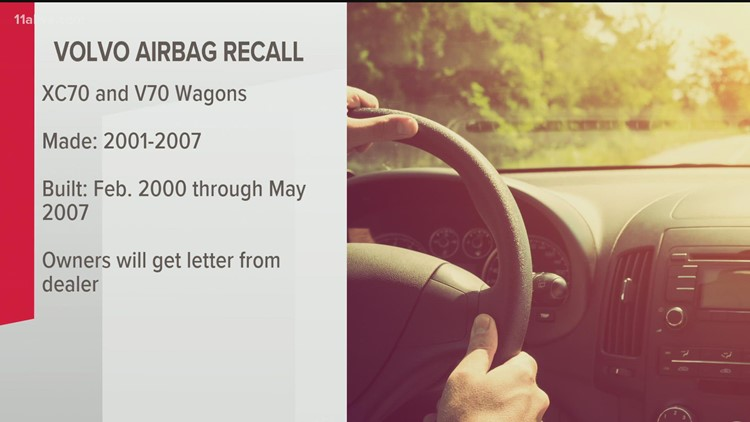 Volvo recalling another 195,000 vehicles over airbag issues