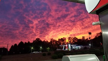 Photos: A gorgeous sunset over Georgia