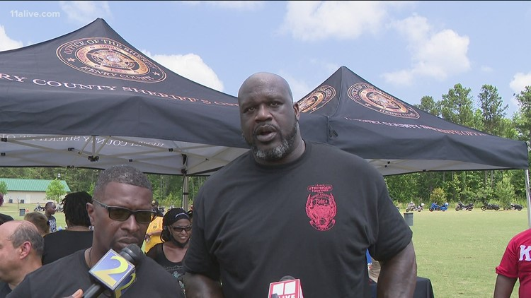 'Ride for unity': Shaq working with Georgia sheriff's office to heal community divide