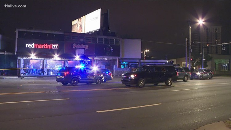 Two shot in fight outside Red Martini club in Buckhead