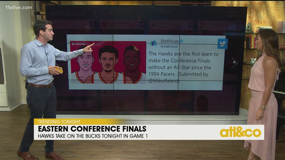 Hawks Head to Eastern Conference Finals