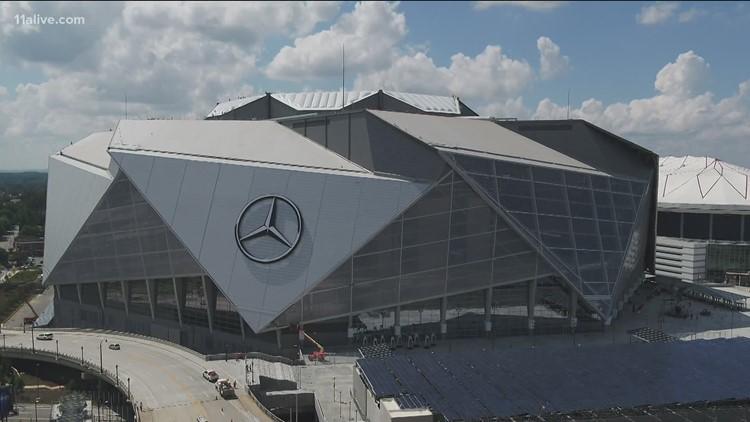 Fans to return Mercedes-Benz Stadium next month