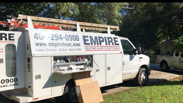 Veteran receives donated furnace, other home repairs