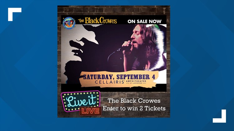 Enter to win 2 tickets to see The Black Crowes!