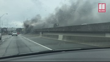 What we know about the fire that was under the I-85 bridge