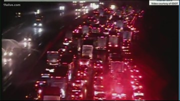 Multiple traffic incidents across the metro on this rainy day