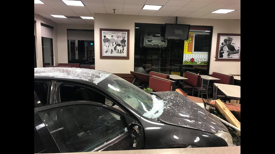 Whoa! Young girl drives car through Athens Chick-fil-A