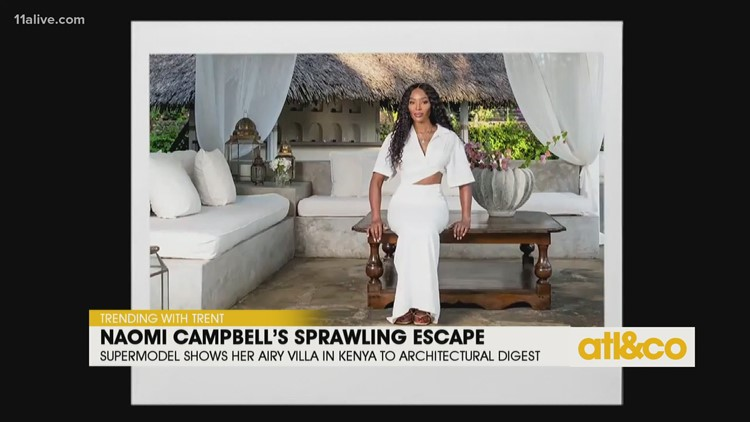 Supermodel Naomi Campbell's Seaside Hideaway