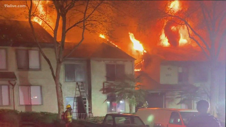 More than two dozen without home day after Easter following Gwinnett apartment fire
