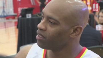 'This is it': Vince Carter at Hawks Media Day