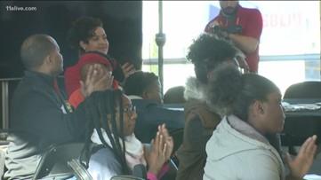 Atlanta Hawks host students for MLK Day