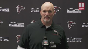 Atlanta Falcons' Dan Quinn speaks after toppling New Orleans Saints, snapping losing streak: 'We knew it was going to be a fight'