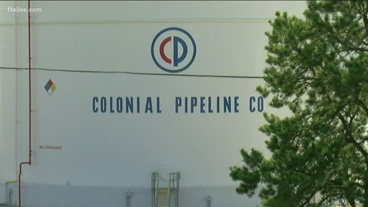 Why is Atlanta so dependent on Colonial Pipeline for fuel?