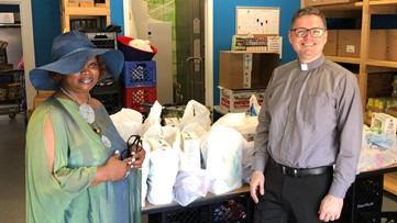 Community Redefined | Local company donates hygiene products to community church food pantries