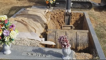 'I felt like I was in the Twilight Zone': Family attempting to bury loved one makes a devastating discovery