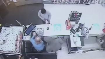 Police release 'machete' surveillance video